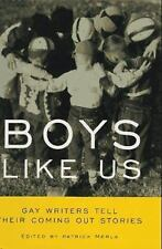 Boys Like Us: Gay Writers Tell Their Coming Out Stories-ExLibrary