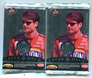 Upper Deck Road to the Cup Trading Cards-2 Sealed Packs-Jeff Gordon