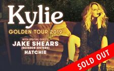 Kylie A Day on the Green NSW Sat 16 March 2 x Platinum Tix