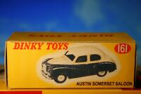 Dinky Toys Austin Somerset Saloon vintage styled Reproduction Box Number 161
