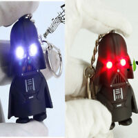 1*Star Wars Darth Vader Light Up LED With Sound Keyring Keychain Key Chain Gifts