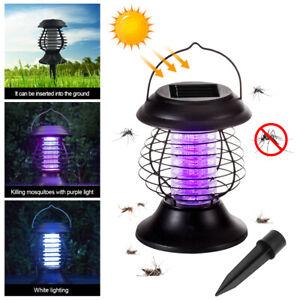 Solar Moskito Killer Garten Outdoor Insektenvernichter Insektenfalle Mückenfalle