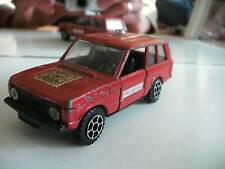Polistil Range Rover Fire Rescue in Red