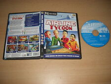 AIRLINE TYCOON  Pc Cd Rom GSP b - SIM Air Flight   FAST DISPATCH