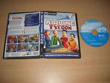 AIRLINE Tycoon PC CD ROM SPG B-SIM AEREO VOLO SPEDIZIONE VELOCE