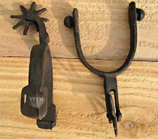 Cast Iron Short Spike Wheel Horse Rider Cowboy Boot Heel Spur Country Farm Decor