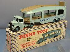 "DINKY TOYS MODEL No.982 PULLMORE CAR TRANSPORTER  VN MIB ""RARE VERSION"" VN MIB"