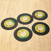 125mm Ultra Thin Resin Grinding Cutting Wheel Abrasive Discs Cutter 5Pcs One Set
