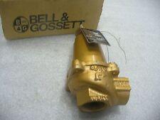 """BELL & GOSSETT  3/4"""" BRONZE ASME RELIEF VALVE M/N #790-36 36 PSI"""