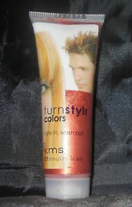 KMS Turnstylr Style In & Wash Out TEMPORARY Hair Color ~ COPPER WIRED ~ 1.7 oz.!