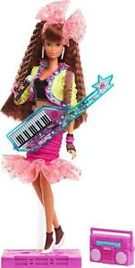 Barbie Rewind 80s Edition Dolls Night Out Doll-Themed Brunette Brand New Toy