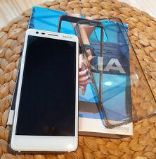 Nokia 3.1 - 16GB - Weiß/Eisen (Ohne Simlock)+OVP (Android 10)Dual-Sim