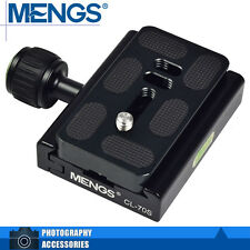 MENGS CL-70S Camera Quick Release Plate + Clamp For Camera Tripod Ball Head