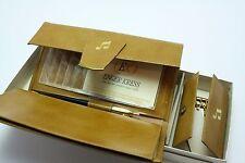 Enger Kress Vintage Leather Wallet Checkbook Register Key Holder Gift Set In Box