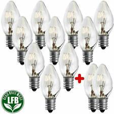 Salt Rock Lamp Bulb 10 Pack + 2 Free 15 Watt Bulbs For Himalayan Salt Lamps B