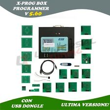 PROGRAMMATORE EPROM USB XPROG 5.60 PLUS ULTIMA VERSIONE 2016 CAS4 BMW FULL