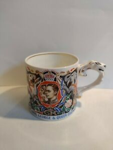 Coronation mug King George and Queen Elizabeth 1937 By Dame Laura Knight.