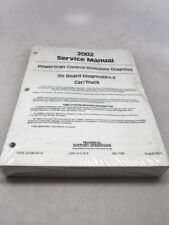 2002 Ford Car/Truck OBDII Mustang Focus Ranger Powertrain Diag Service Manual