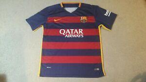Barcelona 2015 2016 Nike Jersey Kit Shirt XL