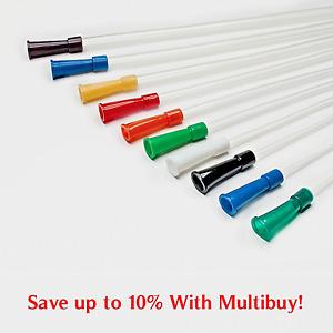 Nelaton Catheter Urine Drainage Sterile Urinary 400mm Size CH6 - CH24 Latex Free