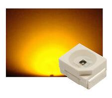 100 St. SMD LED PLCC2 PLCC-2 GELB max. 600 mcd ULTRAHELL