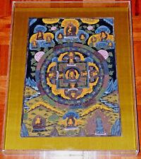 BUDDHA MANDALA THANKA BEAUTIFUL PAINTING THANGKA ART