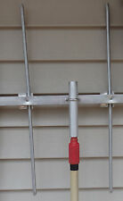 "Antenna Mast 1.0"" OD to Painter's Pole Adapter for Amateur, Ham, WiFi antennas"