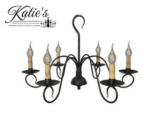 Franklin Chandelier by Katie's Handcrafted Lighting - Primitive Colonial - NEW!