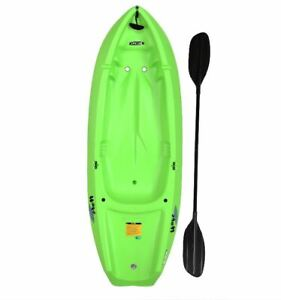 New Lifetime Wave 6 ft Youth Kayak (Paddle Included), 90154 Green Color