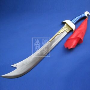 Cosplay Hand Forged knife Drink snow Sword Anime Props Stainless Steel #1709