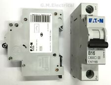 EATON 16 AMP TYPE B 16A MCB BREAKER MEMSHIELD 3 EAD16B / EMBH116 MOELLER XPOLE