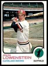 1973 TOPPS JOHN LOWENSTEIN #327 NM-MT+ ULTRA HIGH END SET BREAK BLR3D1