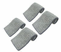 """Flat Mop Pads Microfiber Replacement Cloth for Squeeze Spray Mops 13"""" x5"""" 4 Pack"""