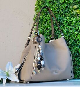 MINT Coach 57670 colorblock Leather Edie 31 Shoulder Bag purse hobo handbag tote