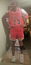EXCELLENT CONDITION Vintage Michael Jordan Upper Deck Life Size Cardboard Image