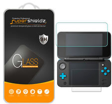 Nintendo 2DS XL Tempered Glass Screen Protector (2x Top Glass + 2x Bottom PET)
