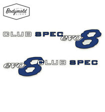 Subaru WRX CLUB SPEC evo 8 Sides Decal set