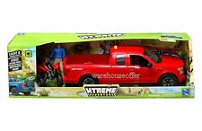 NEWRAY XTREME ADVENTURE FORD F-150 & HONDA CRF450R WITH FIGURE PLAY SETS 02216A
