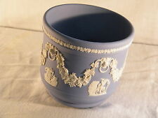 "Wedgwood Blue Jasper Ware ""Lion"" Planter, lovely unused condition."