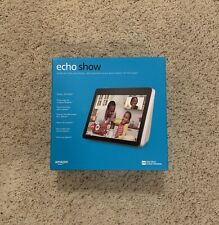 "Amazon Echo Show 2nd Generation 10"" HD Screen ** White** NEW SEALED BOX"