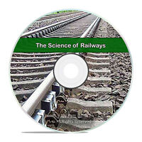 The Science of Railways, 37 Volumes, Railroad Business PDF Books CD DVD H51