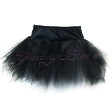 8f9dc4ffd9 Yummy Bee TU TU Skirt Burlesque Plus Size 6 - 24 Tutu Fancy Dress Black 16
