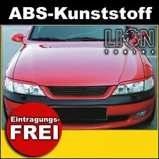 Grill ohne Emblem, Sportgrill, Kühlergrill, Frontgrill Opel Vectra B schwarz