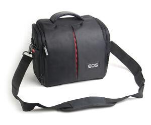 Waterproof DSLR Camera Shoulder Case Bag For Canon EOS 6D MK II, R RP 5D MK III