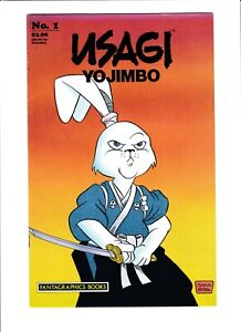 Usagi Yojimbo #1 Excellent  Stan Sakai  Second Print 1987 HOT!!