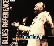 """ROY MILTON   CD BLACK & BLUE   """" INSTANT GROOVE """"   [BLUES]"""