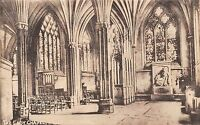POSTCARD   SOMERSET  WELLS  Cathedral  The  Lady  Chapel