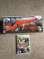 Nintendo Wii Cabela's Big Game Hunter 2010 Gun 2012  Game