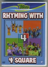 RHYMING WITH 4 SQUARE Treehouse YTV Nelvana 2008 DVD Canadian Release OOP HTF