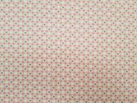 100% COTTON PRINTED FABRIC - LOVE HEARTS